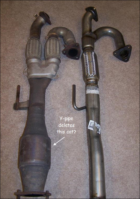 Also In This Picture Of The Ypipe Vs Oem Borrowed From Another Thread Is Cat Deleted By: Nissan Versa Catalytic Converter Problems At Woreks.co